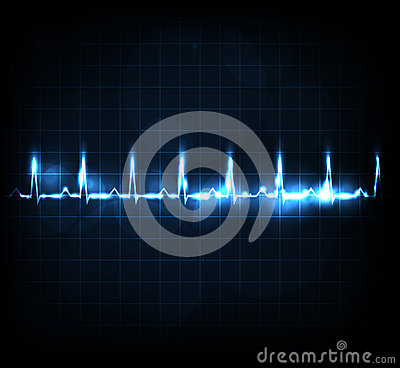 Free Heart Rate Monitoring Royalty Free Stock Photography - 27711787
