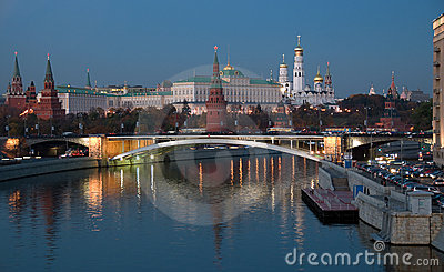 Heart of Russia. A night sight