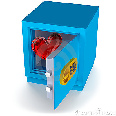 Heart in the safe