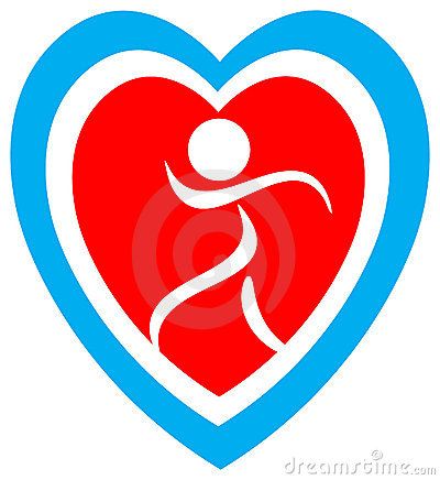 Heart safety logo