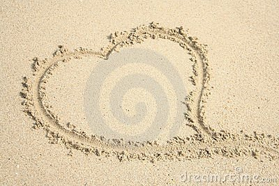 Heart in the sand 2