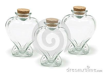 Heart Shape Bottles