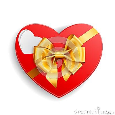 Heart shape gift