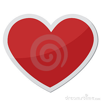 Heart shape for love symbols