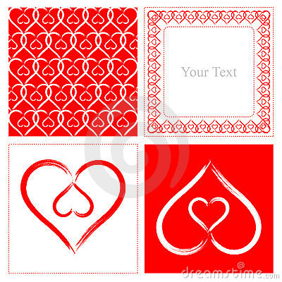 Free Heart Shape Pattern Stock Photo - 13746040