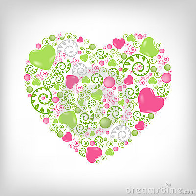 Heart Shape. Vector