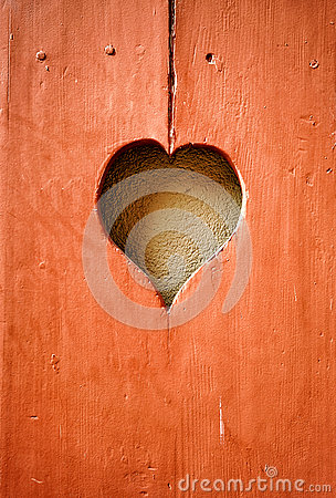 Free Heart Shape Wood Carving Stock Photography - 78671472