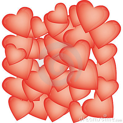 Heart-shaped balloons for Valentine s Day