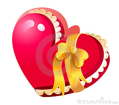 Heart-shaped Closed Jewelry Box