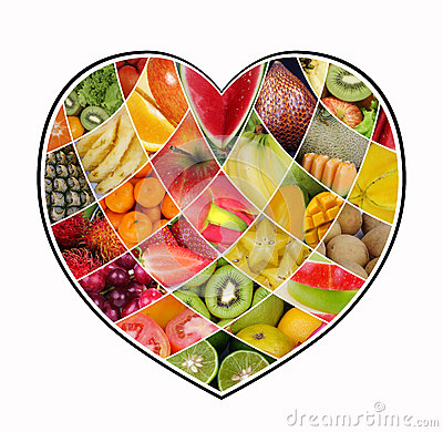 Love Fruit Collage