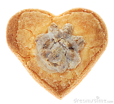 Heart-Shaped Cookie