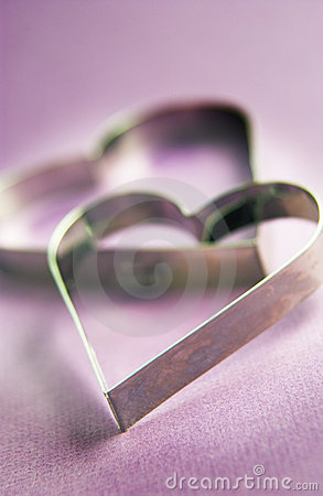 Free Heart Shaped Cookie Cutters Stock Photography - 18388232