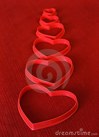 Free Heart Shaped Cookie Cutters Stock Photography - 3060942