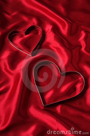 Free Heart Shaped Cookie Cutters Royalty Free Stock Images - 446539