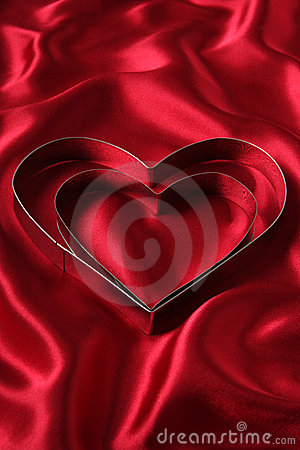 Free Heart Shaped Cookie Cutters Stock Photo - 446540