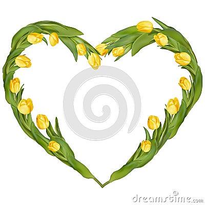 Free Heart-shaped Frame. EPS 10 Royalty Free Stock Image - 68427346