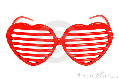 Heart-shaped grille shades
