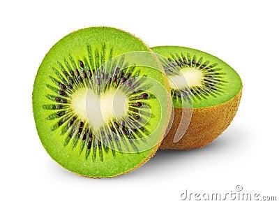 Heart-shaped kiwi fruit