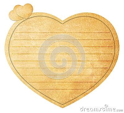 Heart Shaped Love Note