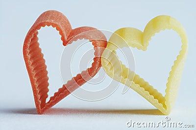 Heart shaped noodle - herzfoermige Nudel