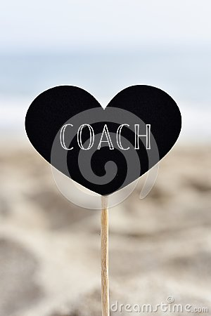 Free Heart-shaped Signboard With Text Coach Royalty Free Stock Image - 119023966