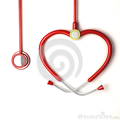 Heart shaped Stethoscope