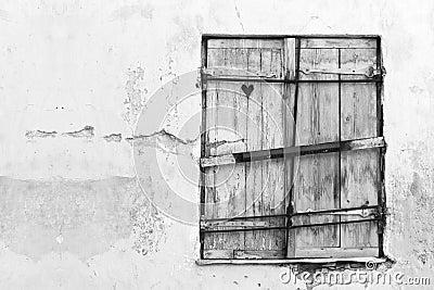 Heart in a shutter