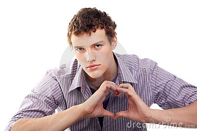 The heart sign