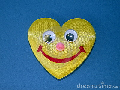 Heart with smile