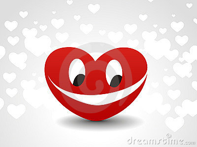 Heart smile icon