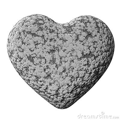 heart of stone stock photography image 7578972 Valentine Heart Clip Art Fish Clip Art Black and White