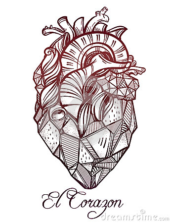 human heart tattoo drawing. Black Bedroom Furniture Sets. Home Design Ideas