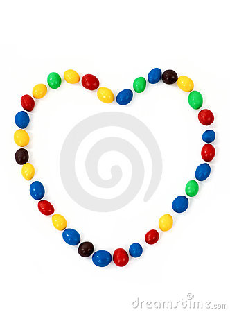 Free Heart Sweets Royalty Free Stock Photo - 1465825