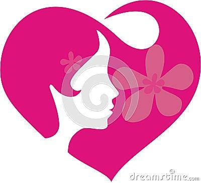 Heart in te hair
