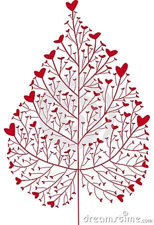 Free Heart Tree Stock Photography - 4955622