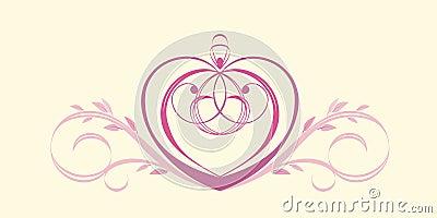 Heart vignette
