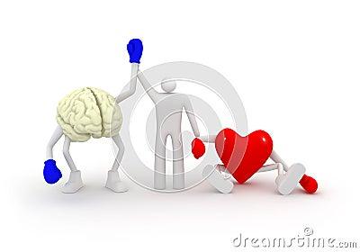 Heart vs Mind.