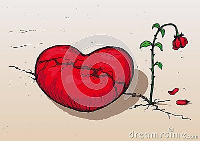 Heartbroken (vector)