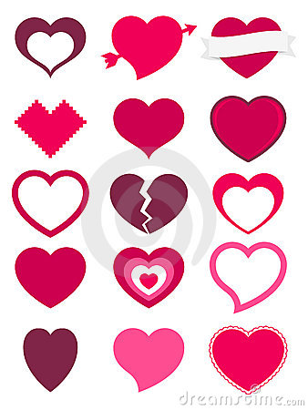 Free Hearts Royalty Free Stock Image - 23119676
