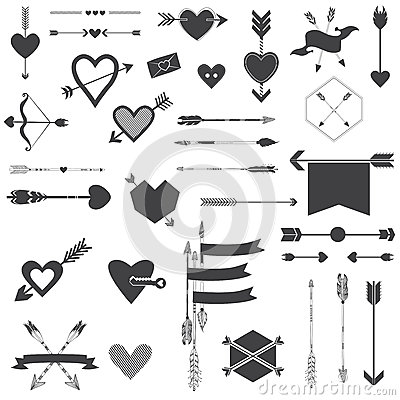 Hearts and Arrows Set