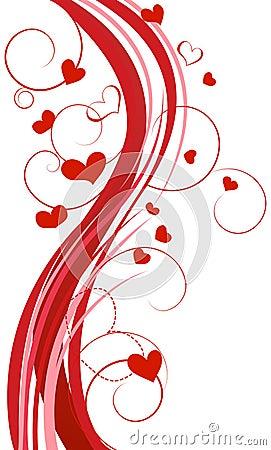 Free Hearts Background Royalty Free Stock Photos - 17748158