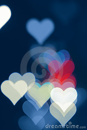 Free Hearts Background Stock Photography - 4228292
