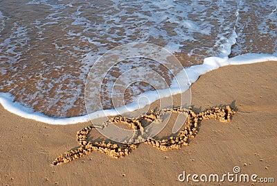 Hearts beach
