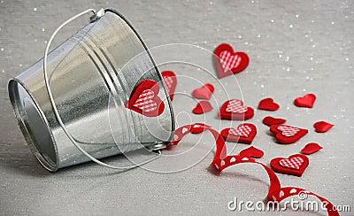Hearts in a Bucket