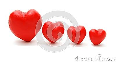 Hearts in Descending Order