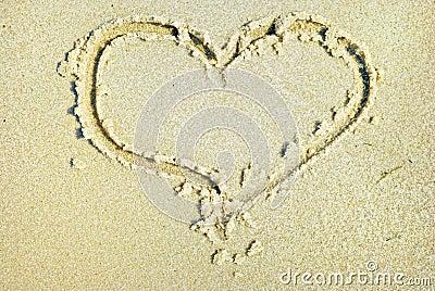 Hearts drawn