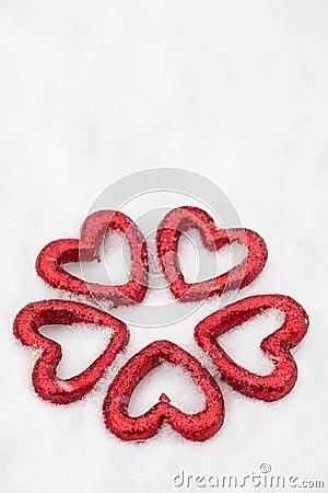 Hearts group at snow