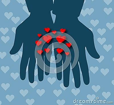 Hearts in Hands !