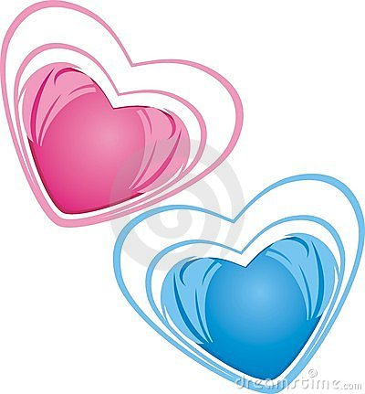Hearts. Icons