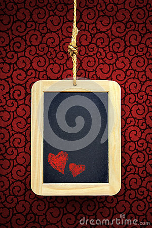 Free Hearts In Slate Stock Photography - 29189842